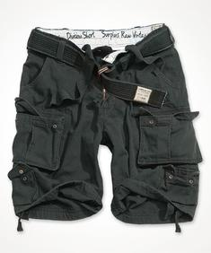 Surplus Division Shorts BLACK