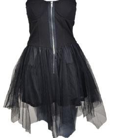 Poizen Industries - Chase Dress BLACK