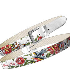 Miami Ink-Full printed belt-white