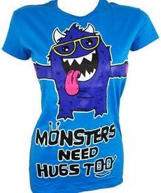 Cup kake cult monstre hugs t ladies