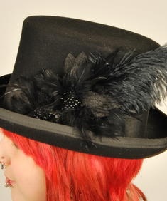 SDL-Goth Hat Feather