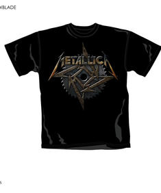 Metallica-T-Shirt-Saw Blade