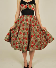Hell Bunny- Romance Leaopard Dress