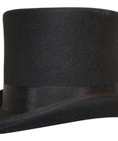High Top Hat Black