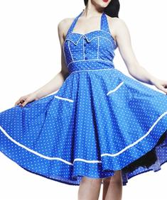 Hell Bunny-Vanda2-Blue