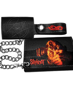 Slipknot-Chain Wallet With Print