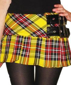Punk kjol från pop soda.
