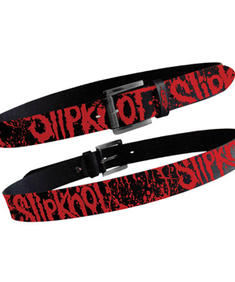 Slipknot Black Printed Belt