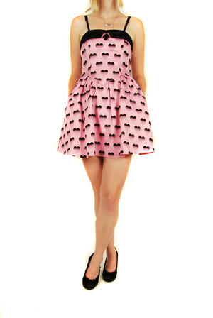 Hell Bunny- Pink Heartless-Dress