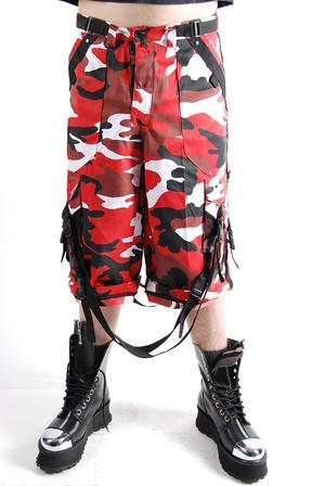 Byxor-Baggy Military-Red