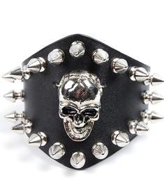 Big Skull N Stud-Armband