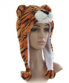Fleece mössa - Tiger