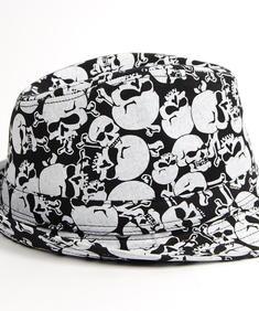 Skull Hat-Blk