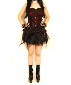 SDL-Goth Rose Dress