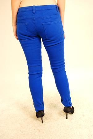 Criminal Damage-Blue Stretch Jeans