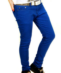 Criminal Damage-Blue Stretch Jeans