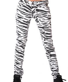 Girl Jeans-Zebra White-Cd