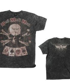 Dead Man's Hand Vintage T-shirt BLACK