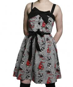 Girl Dress-Ship Grey-Cd