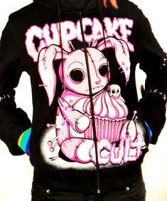 Cupcake Bunny Hoodie