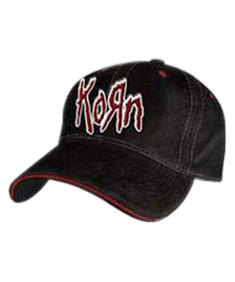 Korn - Rubber Patch On Black Flex Cap