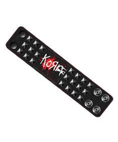 Korn- Mens Wristband With Studds & Print