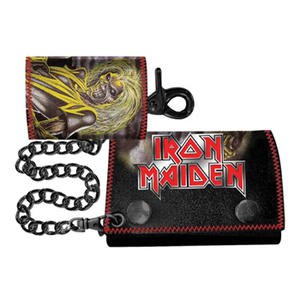 Iron Maiden - Double Chain Metal Badge