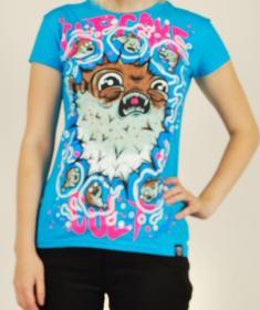 Poizen Industries -Blue shirt-Putterfish