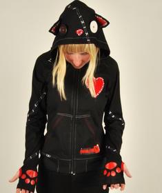 Poizen Industries - Voodoo Cat-Hoodie