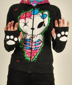 Bye bye kitty-Bbk zombie hood