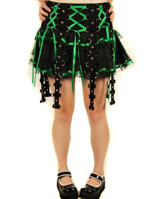 Hell Bunny-Lucy Green-Skirt