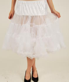 Hell Bunny-Petit long Skirt/white