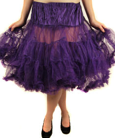 Hell Bunny-Petit long Skirt-Purple