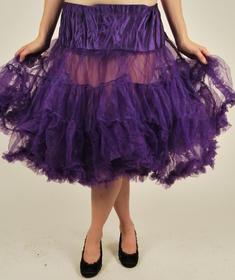 Hell Bunny-Petit long Skirt-Purple