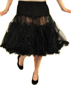 Hell Bunny-Petit long Skirt-black