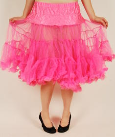 Hell Bunny-Petit long Skirt-Pink