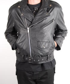 Leather Jacket-Motorcycle