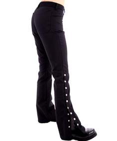 Button Hipster Denim - Black