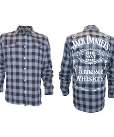 Jack Daniel's Checkers Shirt