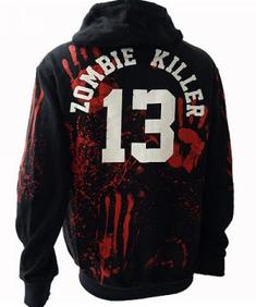 Hood/luvtröja Zombie Killer Premium Zip Hood