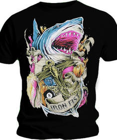 Iron Fist-Shark and stones-Tshirt