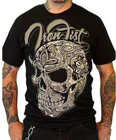 Iron Fist-Suger Skull Shirt
