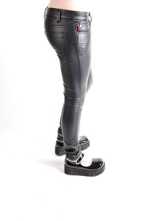 Tripp-Leather Pants Black