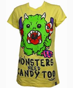 Monster candy T ladies