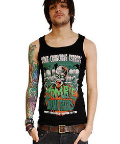 Tank top zombie brain eaters