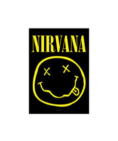 Nirvana - Smiley - Flagga