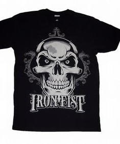 Iron Fist- New Deal Skull-Tshirt