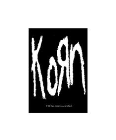 Korn - Band Logo - Flagga