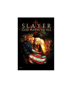 Slayer - God Hates Us All - Flaggor