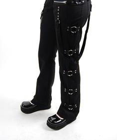 Queen Of Darkness-Piercing Pants